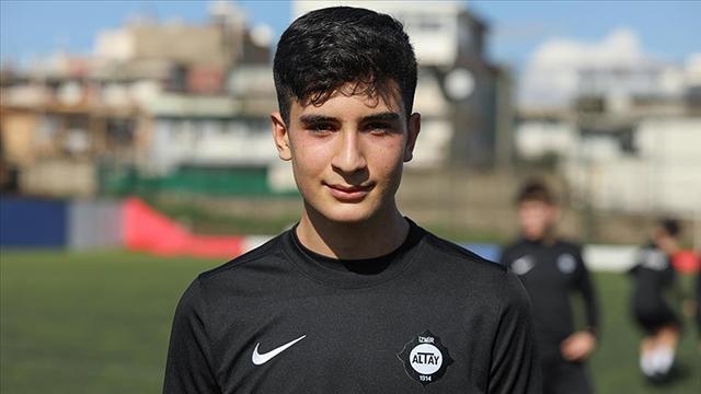 Şehit Fethi Sekinin oğlu Burak Tolunay milli takımda
