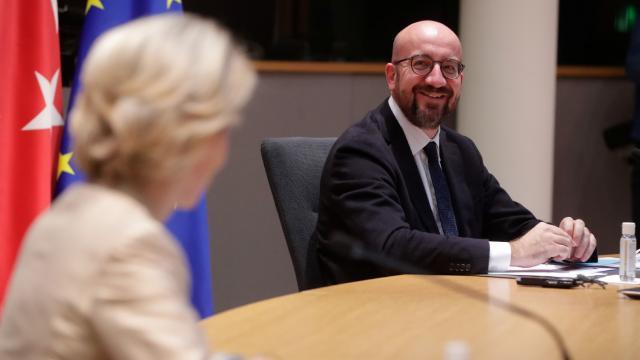 Fransız Le Monde: Protokol olayında hata, Charles Michelin ekibinde