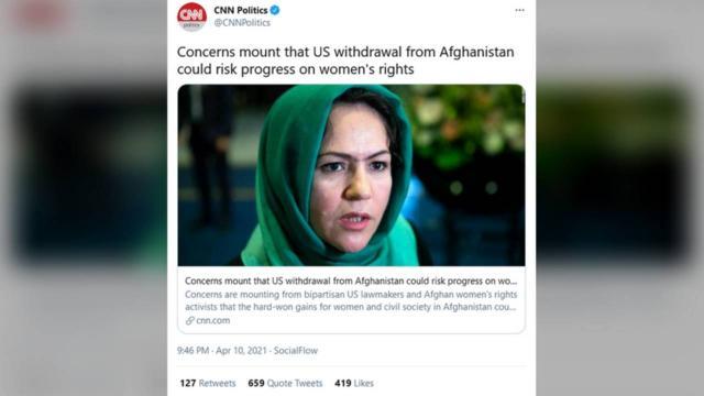 CNNin Afganistan haberi alay konusu oldu