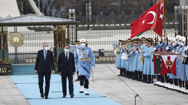 Libya Milli Birlik Hükümeti Başbakanı Dibeybe Türkiyede