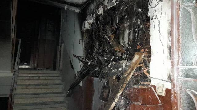 Gaziosmanpaşada bina yangını: 12 kişiyi itfaiye kurtardı