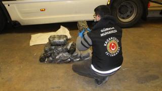 Kapıkule'de 12,5 milyon lira değerinde uyuşturucu ele geçirildi