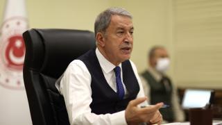 Bakan Akar: Rusya-Ukrayna gerginliğinin bitmesinden yanayız