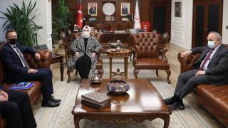 Aile Bakanı Selçuk, ILO Türkiye Direktörünü kabul etti