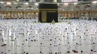 Kabe'de Ramazan'ın ilk teravih namazı kılındı