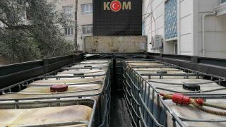 Osmaniye'de 12 bin litre kaçak akaryakıt ele geçirildi