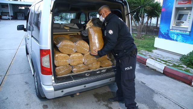 Ankarada 1,6 ton kaçak tütün ele geçirildi