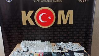Şırnak'ta kaçakçılık operasyonu: 64 gözaltı