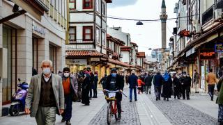Konya'da çarşı pazarda ramazan hareketliliği