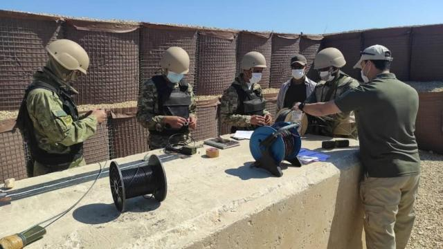"""TSKdan Libya ordusuna """"Sualtı Savunma Eğitimi"""""""