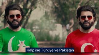 Pakistanlı sanatçıdan Türkçe dostluk şarkısı