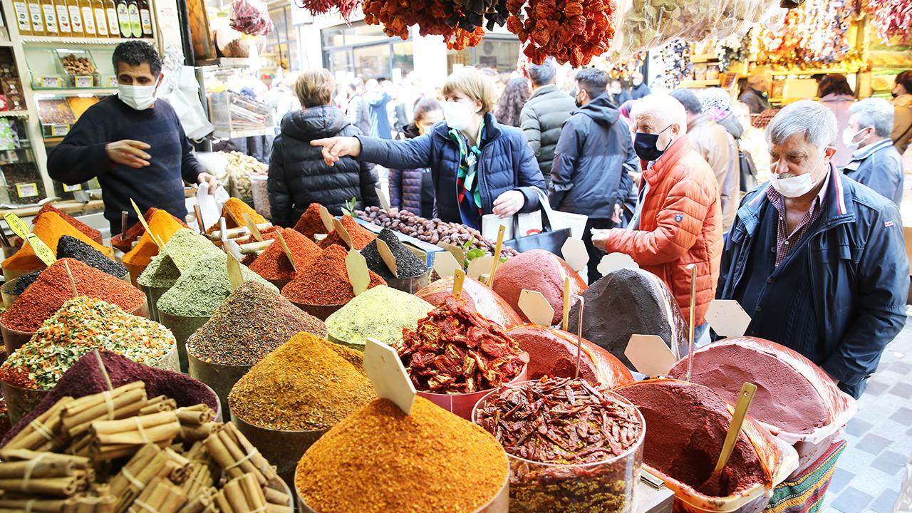 İstanbul'da ramazan alışverişi yoğunluğu