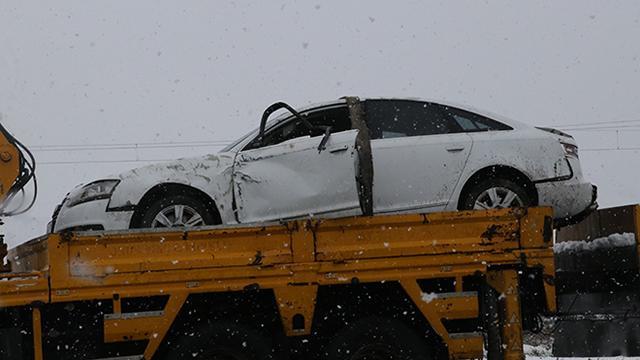 Yargıtay Cumhuriyet Savcısı Kayanın kullandığı otomobil devrildi: 1 ölü, 3 yaralı