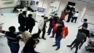 Sivas'ta sağlık çalışanlarına saldırı: 8 gözaltı