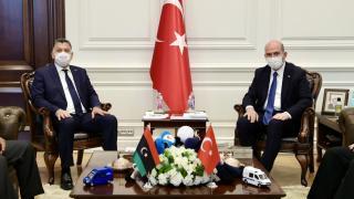 İçişleri Bakanı Soylu, Libyalı mevkidaşıyla görüştü