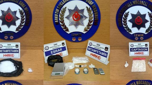 İzmirde uyuşturucu operasyonları: 14 tutuklama