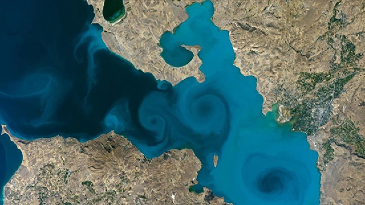 Van Gölü fotoğrafı NASA'nın yarışmasında finale kaldı