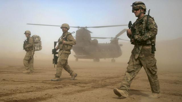 ABD Afganistandan çekilmeye başladı
