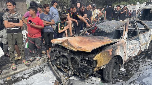 Bağdatta bombalı araç saldırısı