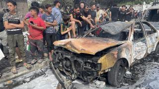 Bağdat'ta bombalı araç saldırısı