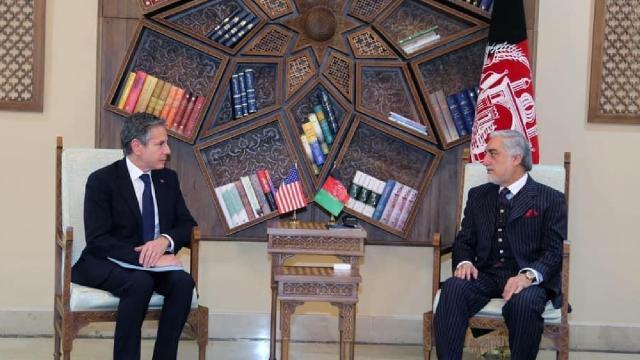 """Antony Blinkenden sürpriz """"Afganistan"""" ziyareti"""