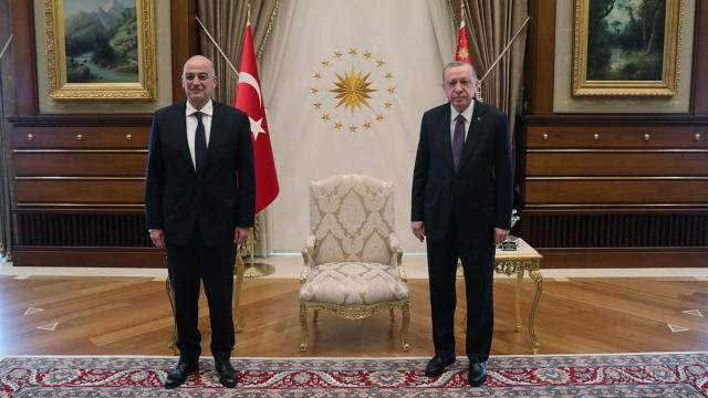 Cumhurbaşkanı Erdoğan, Dendiası kabul etti