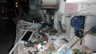 Ankara'da doğalgaz patlaması: 2 yaralı