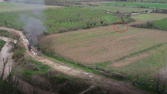 Düzcede havayı kirletenler dron ile tespit ediliyor