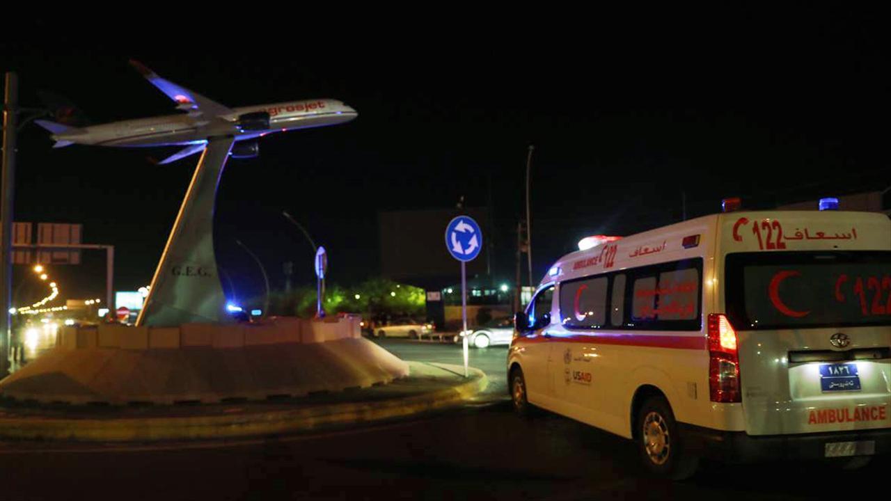 Erbil'de DEAŞ karşıtı koalisyon üssüne dron saldırısı