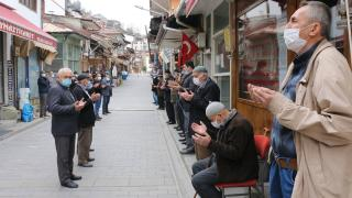 Bolu'da 700 yıllık esnaf duası geleneği