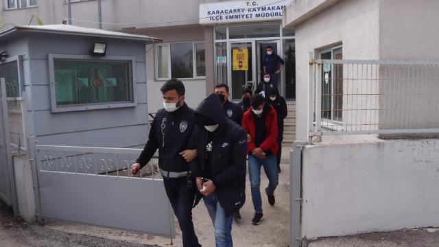 Bursada uyuşturucu operasyonu: 6 tutuklama