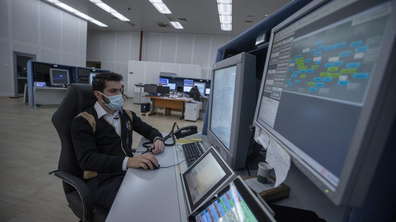 """Türkiye'nin hava trafiği """"Hava Trafik Kontrol Merkezi""""nden yönetiliyor"""
