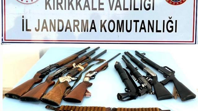 Kırıkkalede uyuşturucu ve kaçakçılık operasyonları: 4 gözaltı