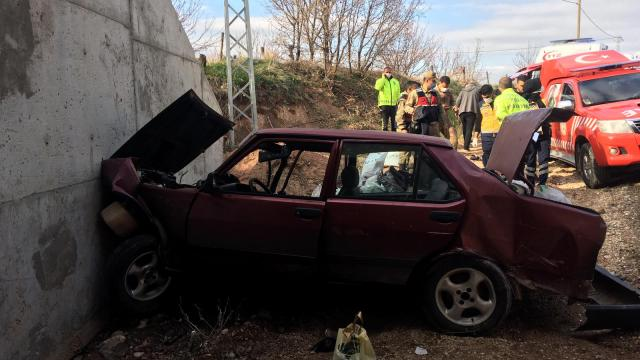 Malatyada trafik kazası: 2 yaralı