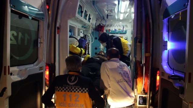 Elazığda trafik kazası: 2 ağır yaralı