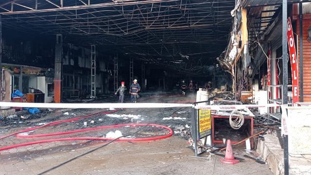 Kızılcahamamdaki yangında zarar gören esnafa destek müjdesi