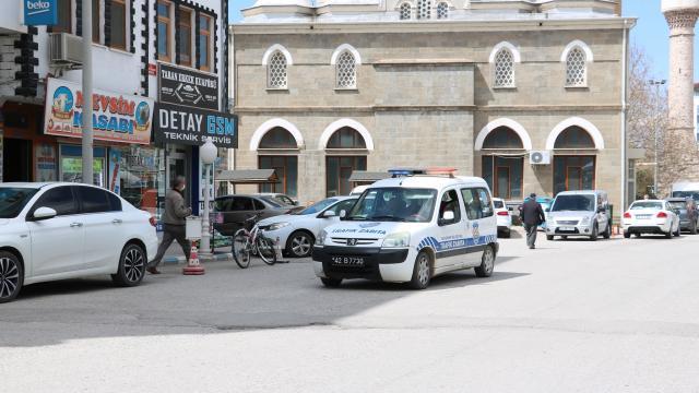 """Beyşehirde vatandaşlara anonslarla """"Beyşehir Gölü gibi mavi olalım"""" çağrısı"""