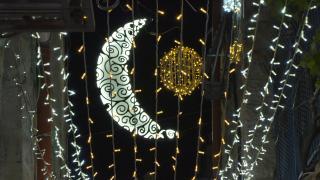 Kudüs sokakları ramazanda ışıl ışıl