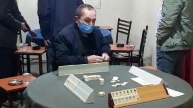 Kırıkkalede kıraathanede yakalanan 18 kişiye 96 bin 300 lira ceza