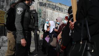 İsrail polisinin Kudüs'teki saldırısında 7 kişi yaralandı