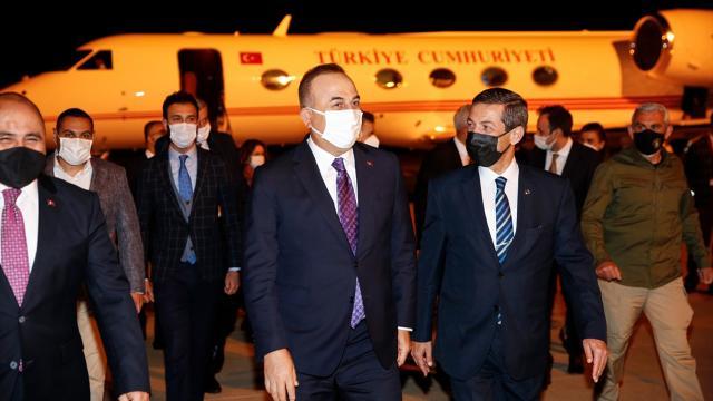 Dışişleri Bakanı Çavuşoğlu KKTCye gitti