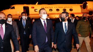 Dışişleri Bakanı Çavuşoğlu KKTC'ye gitti