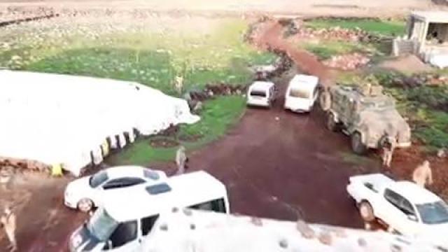 Şanlıurfada dron destekli silah operasyonu: 1 tutuklama