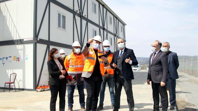 Samsunda 900 yataklı şehir hastanesinin inşaatı başladı