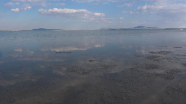 Seyfe Gölü Kuş Cennetinin su seviyesi yükseldi