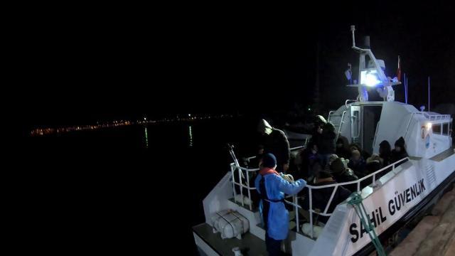 Yunanistan geri itti, 40 sığınmacıyı Türkiye kurtardı