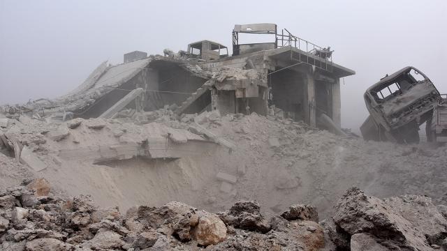 Esed rejimi 9 yılda 81 binden fazla varil bombası kullandı