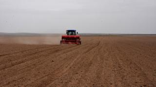Bozkırın toprakları nohut tohumlarıyla buluştu