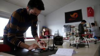 Üniversiteliler TEKNOFEST'e ATA Teknokent'te hazırlanıyor