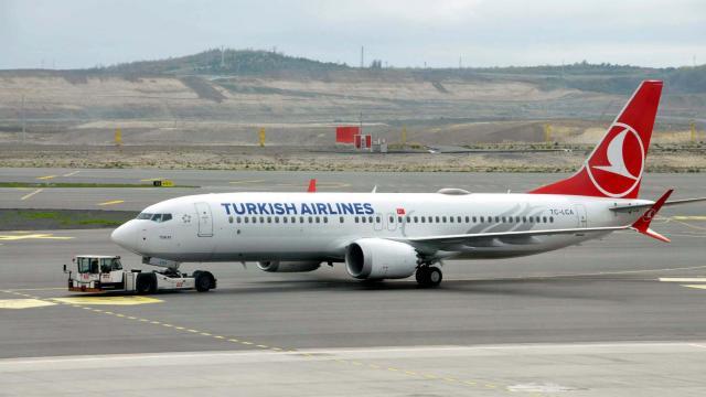 THY, B737 MAX ile ilk uçuşunu İstanbuldan Ankaraya yaptı